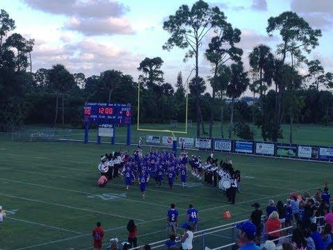 The King's Academy Vs. Village Academy- Varsity Football Highlights