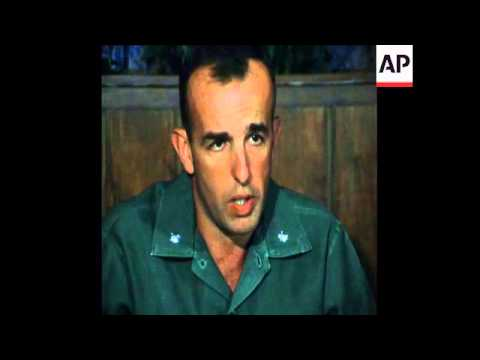 SYND 20 5 75 PRESS CONFERENCE FOR MARINES WHO ATTACKED KOH TANG ISLAND