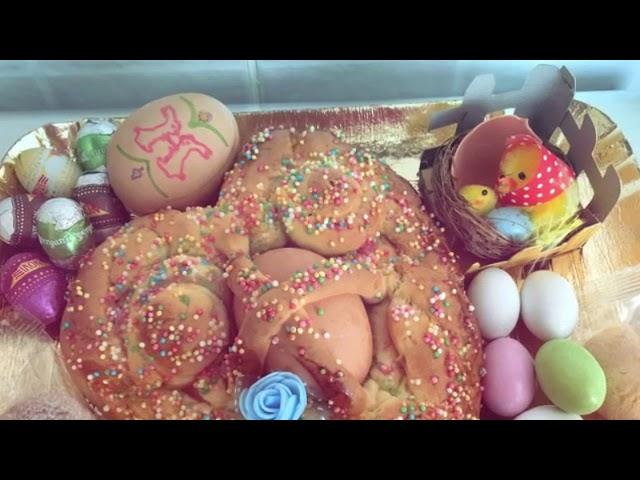 """Happy Easter with the """"Cuddura ccu l'ova"""""""