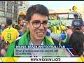 Theatre of Dreams: Brazil football fans recreate Rio Carnival in Russia