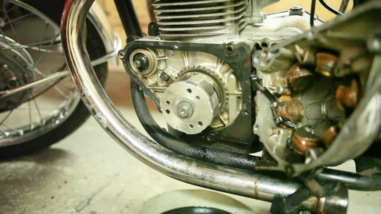 1971 Honda Cb350 My Electric Starter Makes This Horrible Rattling Cb175 Wiring Diagram Noise