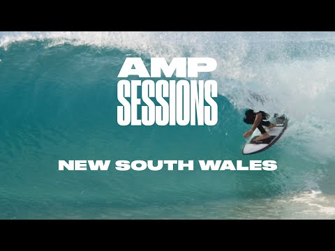 Creed McTaggart, Ellis Ericson, and Wade Goodall in New South Wales | SURFER: Amp Sessions