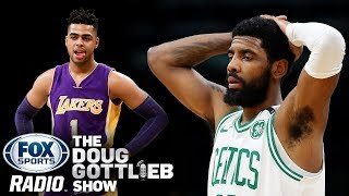 Lakers are Meeting with D'Angelo Russell & Nets Don't Want Kyrie Irving Alone