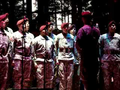 "The 82nd Airborne Division's ""All American Chorus"" Cary NC 11082008"