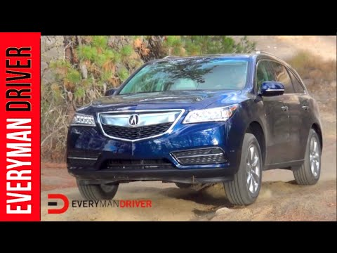 2015 Acura MDX SH-AWD Off-Road On Everyman Driver