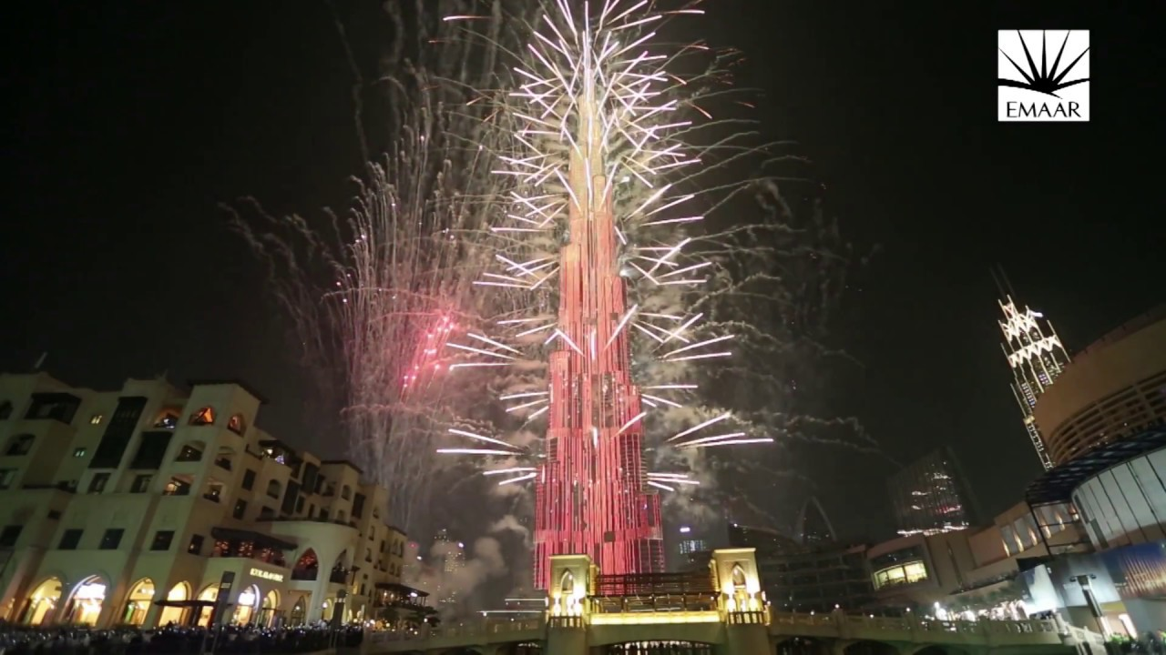 Download Downtown Dubai NYE 2016 - Full Highlights