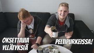 YLLÄTYKSIÄ peltipurkeissa! feat. Eeddspeaks & Tepatus