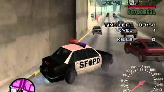 how to be a cop in gta sa