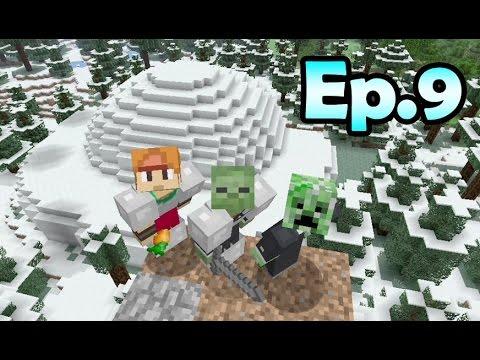 Minecraft Survival - Igloo Extensions [9]