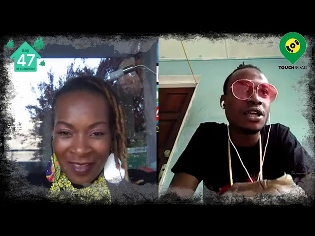 Touchroad interviews Dancehall Artist Naturalflamez@Shutterdownfestival UK Live,Virtual 2020