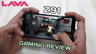 Lava Z91 Gaming Review | Lava Z91 Gaming Test