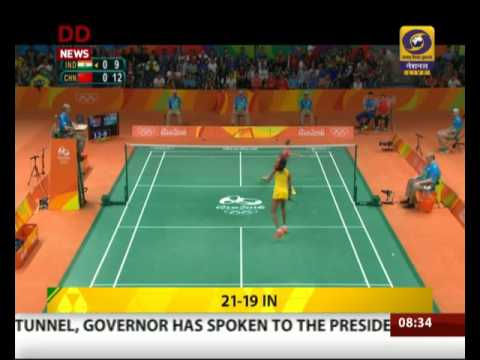 Sindhu slays Wang Yihan to reach Olympic semifinals