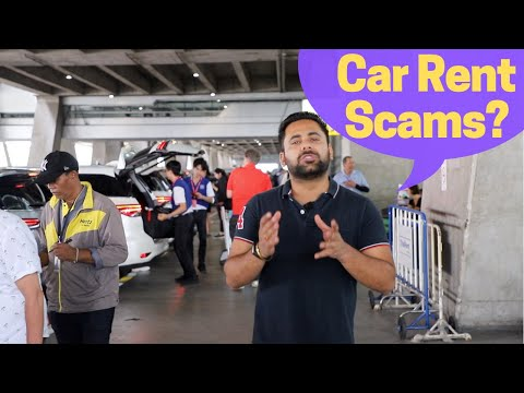 How To RENT A Car ABROAD Without Getting RIPPED OFF?? Insurance, Security, International Permit Etc.