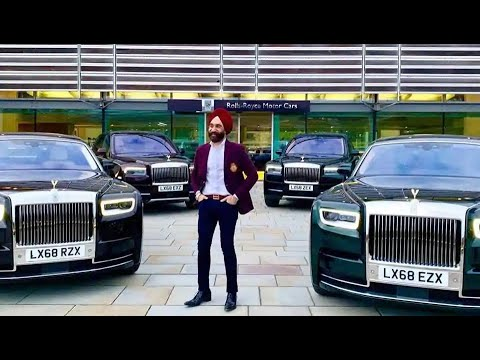 Reuben Singh car collection 2019.THE ROLLS ROYCE MAN.