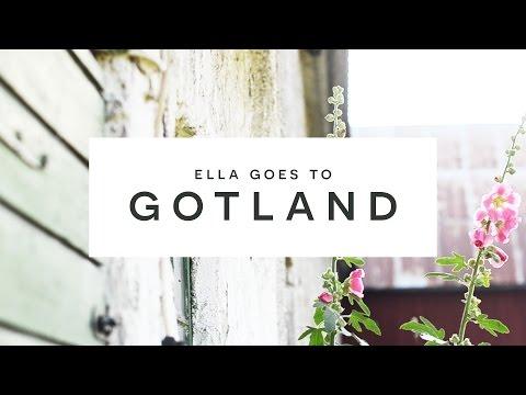 Ella Goes To Gotland #swedishsummer