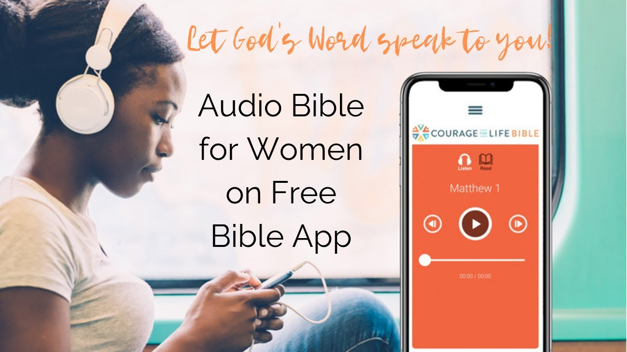 First fully-female voiced NLT audio Bible helps women connect to the