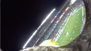 """Challenger"" the Eagle Soars with Action Cam at Philly Eagles Game!"