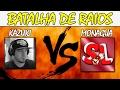Kazuki vs Monagua - Batalha de Raios