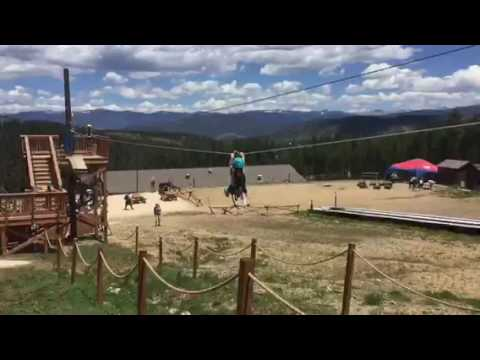 Breckenridge 2016: Peak 8. OG Zip Line