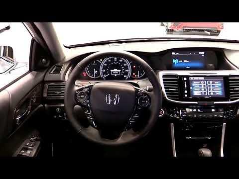 2017 Honda Accord Touring V6 Premium Features   New Design Exterior Interior   First Impression HD