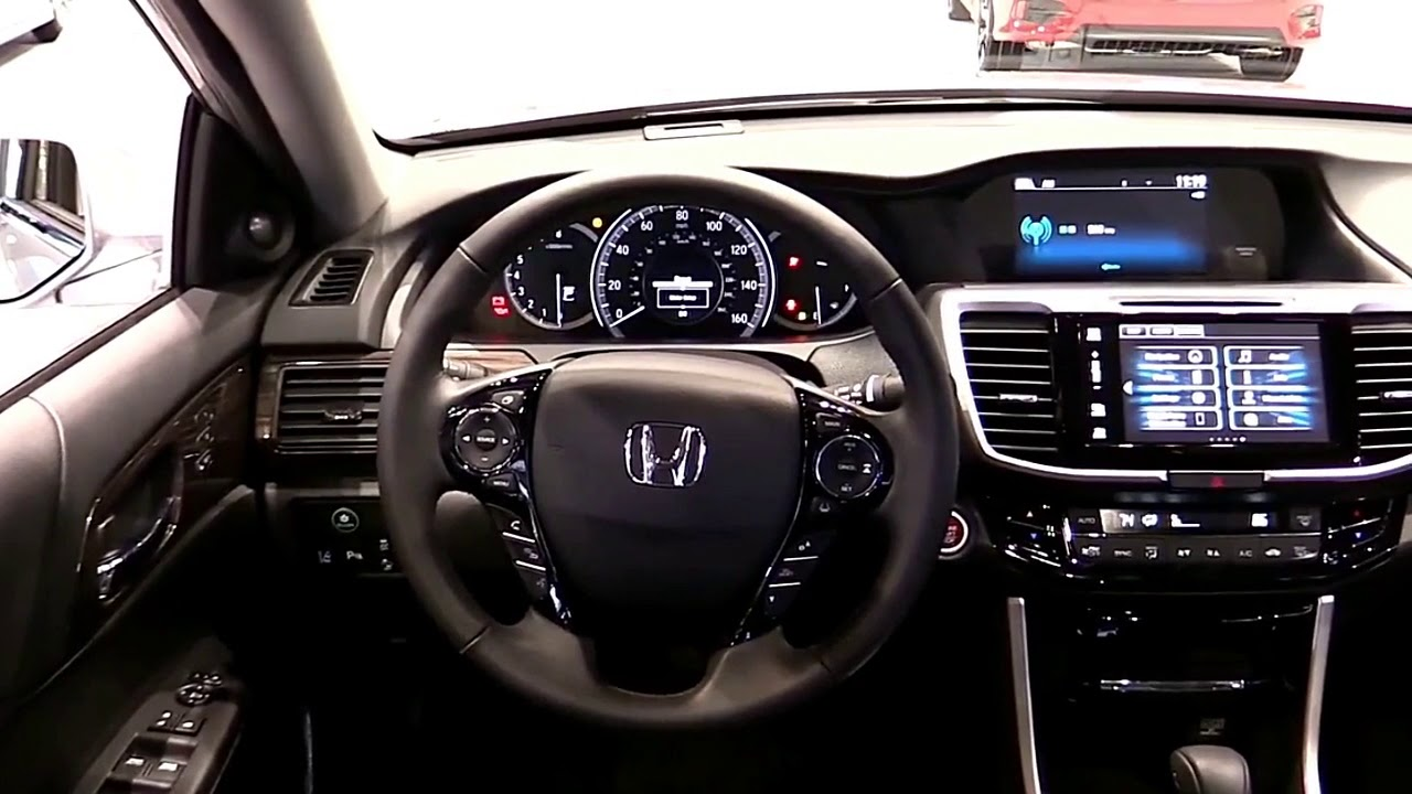 2017 Honda Accord Touring V6 Premium Features New Design Exterior Interior First Impression Hd