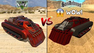 GTA 5 SCARAB VS GTA SAN ANDREAS SCARAB - WHICH IS BEST?
