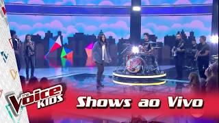 Baixar Neto Junqueira canta 'O Que Sobrou...' nos Shows ao Vivo – 'The Voice Kids Brasil'   3ª Temporada