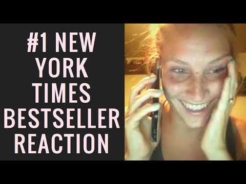 I'M A #1NYT BESTSELLING AUTHOR! (Reaction Video)