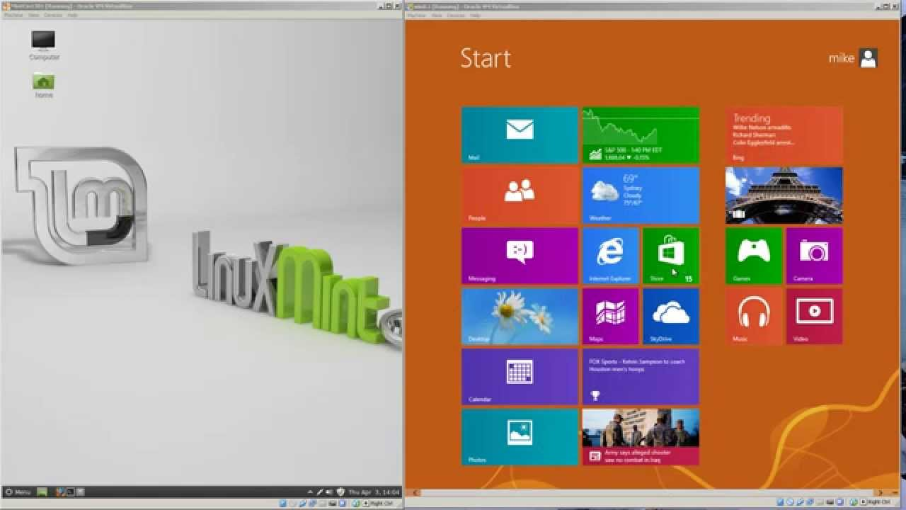 Remote Desktop from Windows 8 to Linux Mint 13 Cinnamon
