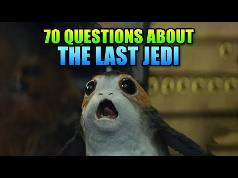 70 Plot Hole Questions For Star Wars The Last Jedi - Spoilers!