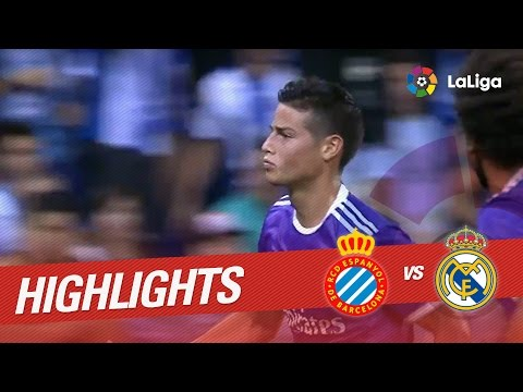 Resumen de RCD Espanyol vs Real Madrid (0-2)