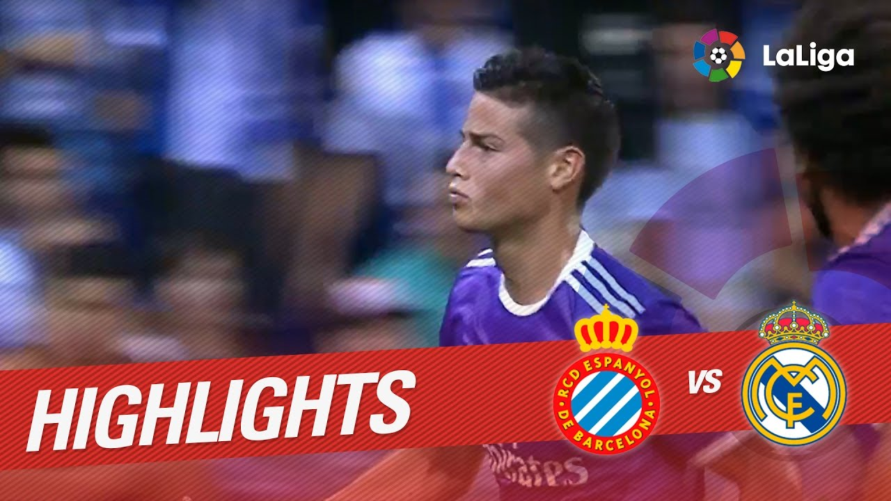 Resumen De Rcd Espanyol Vs Real Madrid 0 2 Youtube