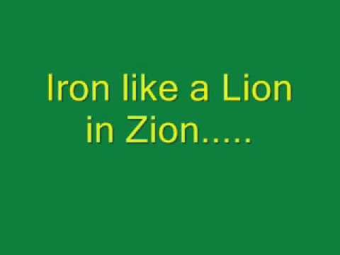 Bob Marley - Iron Lion Zion (Lyrics)