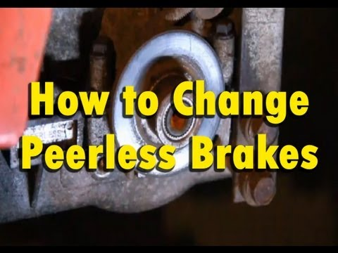 How To Replace Fix Brakes On A Peerless Tecumseh Transmission