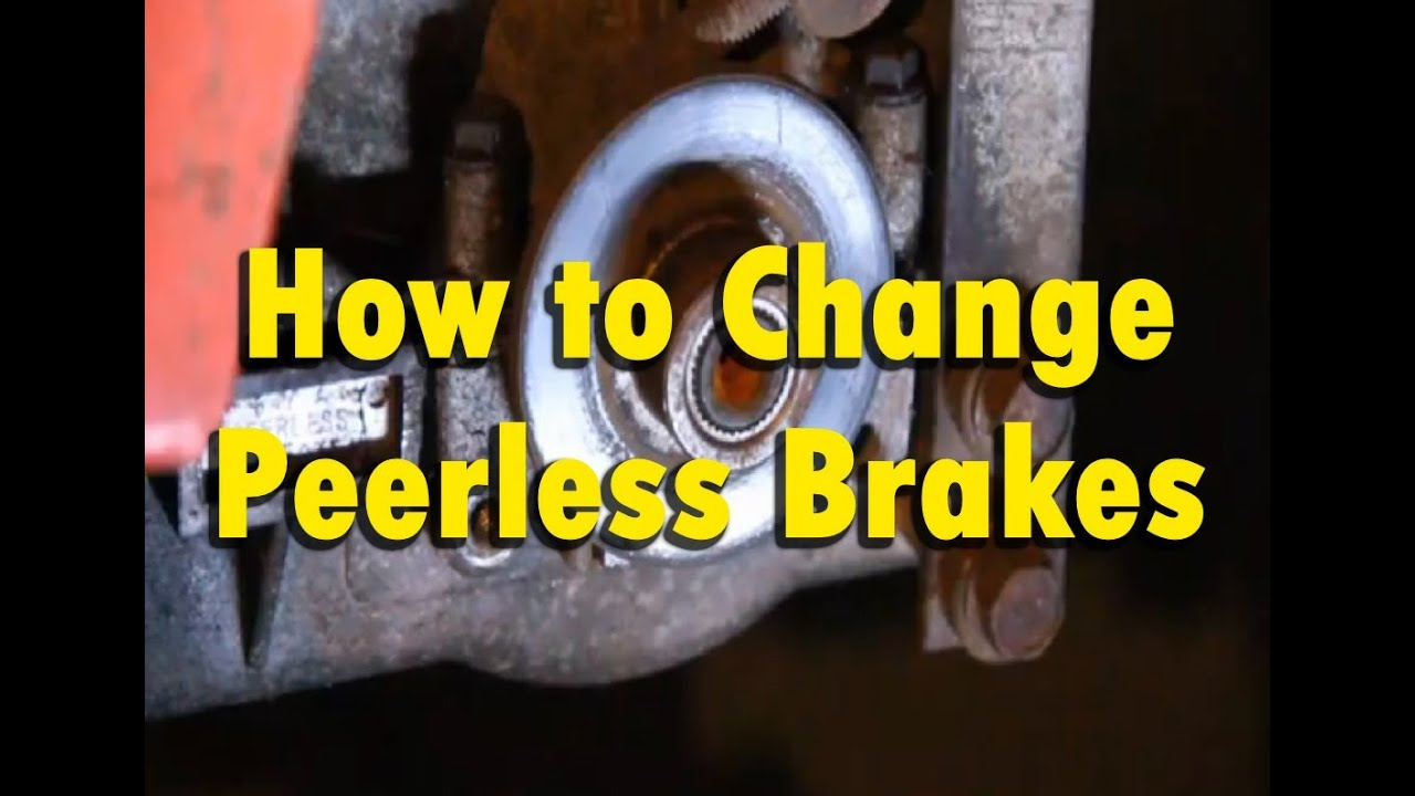 How to: Replace & Fix Brakes on a Peerless Tecumseh Transmission