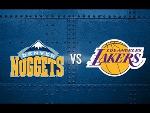 Los Angeles Lakers Vs Denver Nuggets Live Stream Youtube