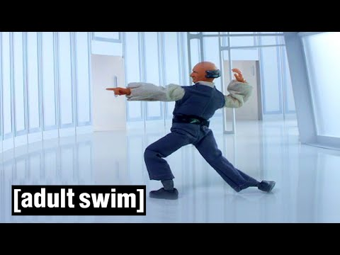Lobot Dancing For 1 Hour... Seriously! | Robot Chicken: Star Wars | Adult Swim
