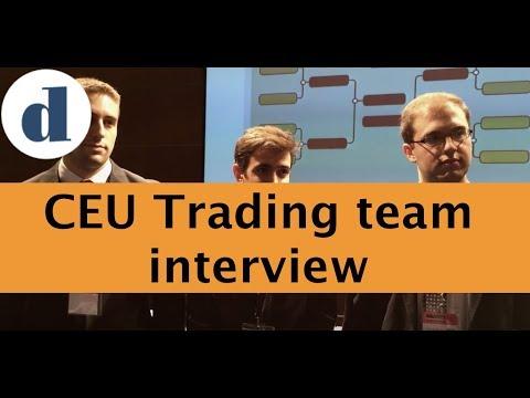 CEU Trading team interview