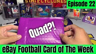 Download Lagu Did Someone Say QUAD For Episode 22 of eBay Football Card of The Week?!? Nice Deal! mp3