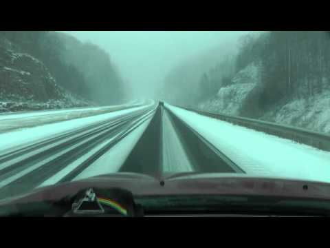 Winter Ride Rt 19 West Virginia