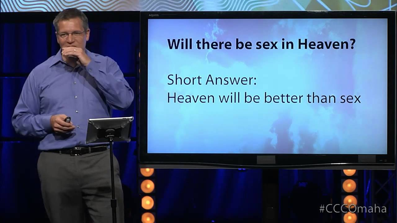 Will there be sex in heaven
