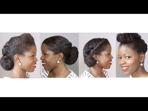 4 Natural Hair Professional Looks Great For Work Interview Misst1806 Natural Hairstyles