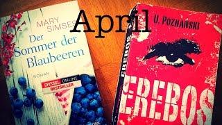 Mickriger Lesemonat April. Wie kann man nur so wenig lesen?