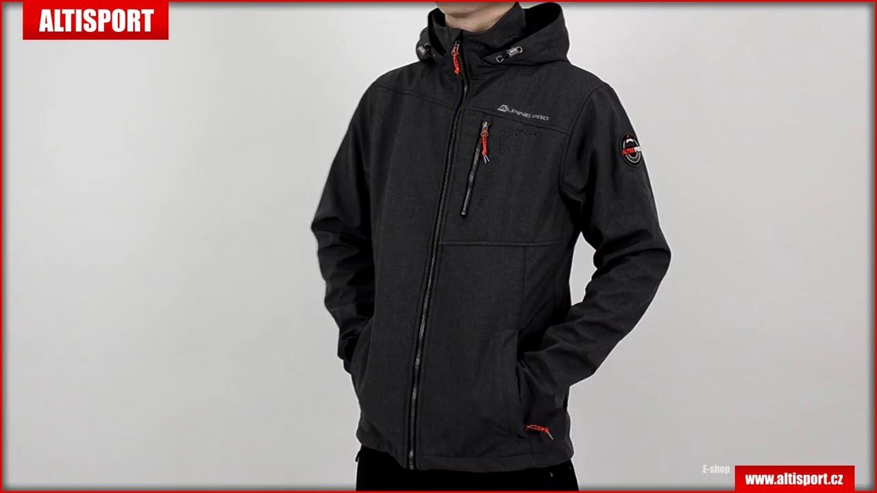 pánská softshellová bunda alpine pro settembrino 3 černá - YouTube 4a9224642a1