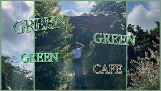 VLOG 초록초록 끝판왕 카페 브이로그 (광안리 브런치…