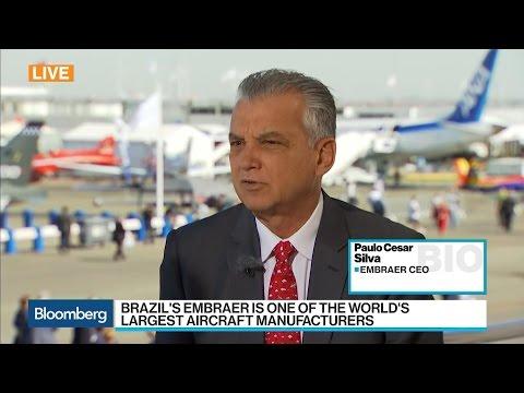 Embraer CEO on Brazil Political Turmoil, E2 Aircraft