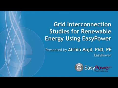 Grid Interconnection Studies for Renewable Energy