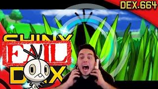 BIGGEST SHINY FAIL IN THE WORLD! EPIC Pokeradar Shiny Fail! Pokemon XY
