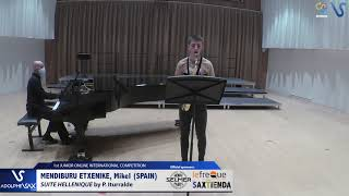 Mikel Mendiburu Etxenique – Suite Hellenique by Pedro Iturralde