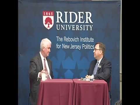 Joseph Roberts, Jr.: Governing New Jersey Series - Rebovich Institute for New Jersey Politics